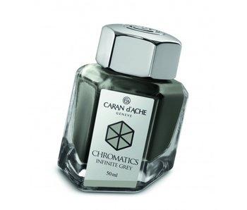 CARAN D'ACHE INK GENVE CHROMATICS INKREDIBLE COLORS INFINITE GREY