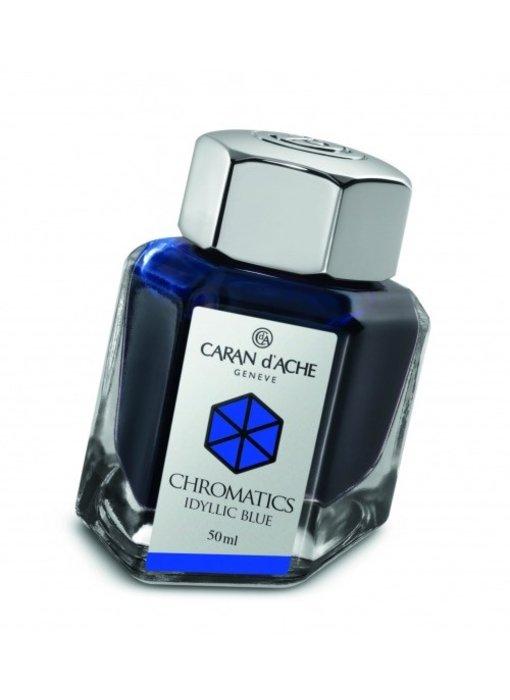 CARAN DÕACHE INK GENVE CHROMATICS INKREDIBLE COLORS IDYLLIC BLUE
