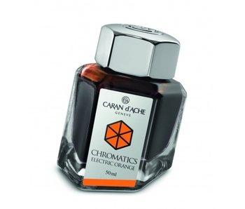 CARAN D'ACHE INK GENVE CHROMATICS INKREDIBLE COLORS ELECTRIC ORANGE