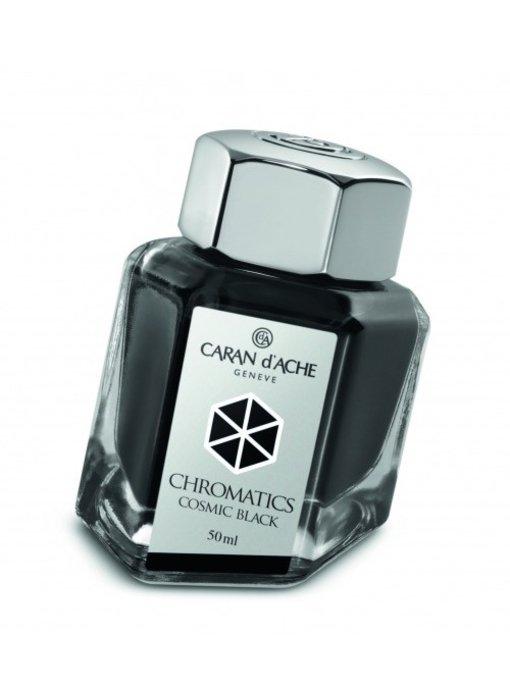 CARAN DÕACHE INK GENVE CHROMATICS INKREDIBLE COLORS COSMIC BLACK