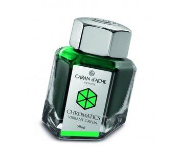 CARAN D'ACHE INK GENVE CHROMATICS INKREDIBLE COLORS VIBRANT GREEN