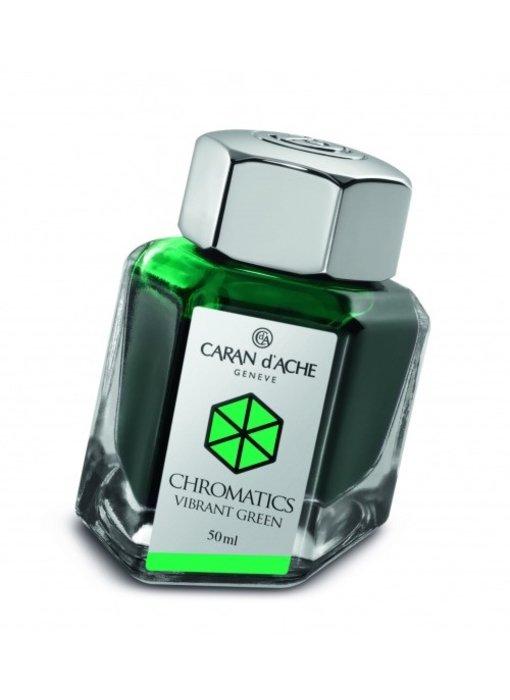 CARAN DÕACHE INK GENVE CHROMATICS INKREDIBLE COLORS VIBRANT GREEN