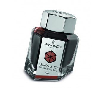 CARAN D'ACHE INK GENVE CHROMATICS INKREDIBLE COLORS ORGANIC BROWN