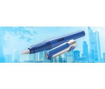 PELIKAN PELIKAN P481L PELIKANO SCHOOL FOUNTAIN PEN BLUE M