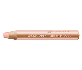 STABILO STABILO WOODY 3 IN 1 PENCIL 355 FLESH PINK