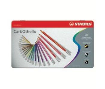 STABILO STABILO CARBOTHELLO CHALK PASTELS 48PK SET