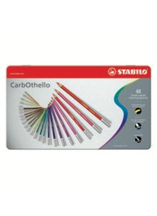 STABILO CARBOTHELLO CHALK PASTELS 48PK SET