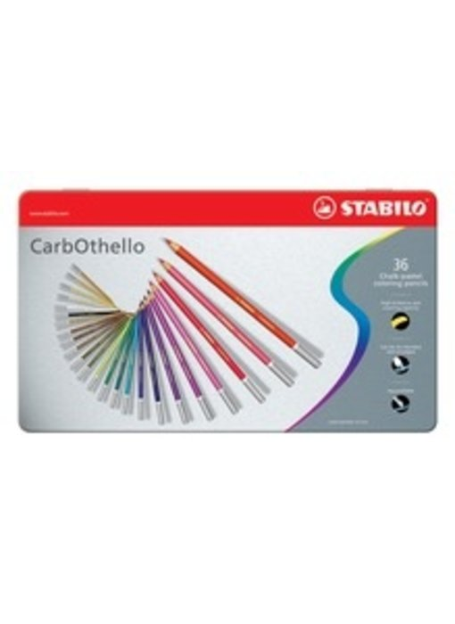 STABILO CARBOTHELLO CHALK PASTELS 36PK SET