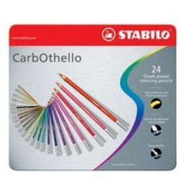 ART Stabilo Carbothello Chalk Pastels 24 Pack