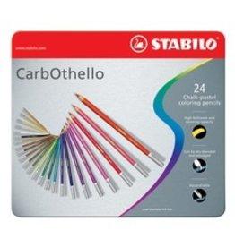 ART Stabilo Carbothello Chalk Pastels 24 pack