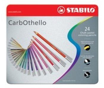 STABILO STABILO CARBOTHELLO CHALK PASTELS 24PK SET