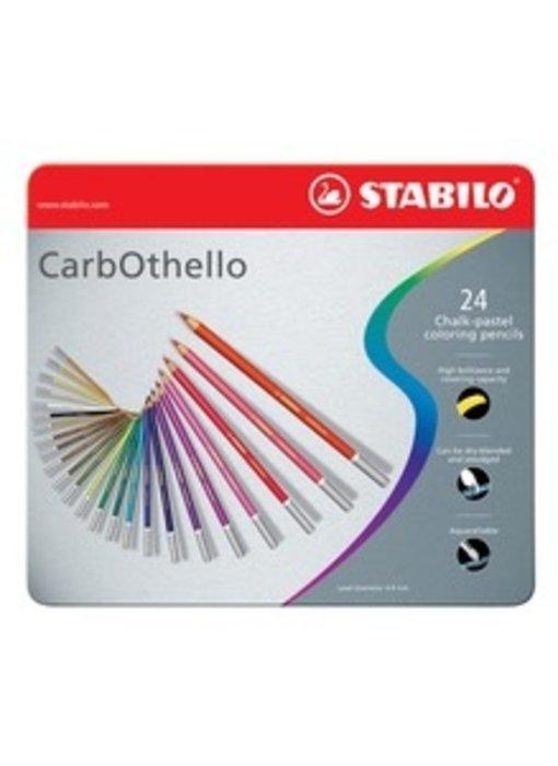 STABILO CARBOTHELLO CHALK PASTELS 24PK SET