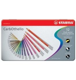 ART Stabilo Carbothello Chalk Pastels 12 pack