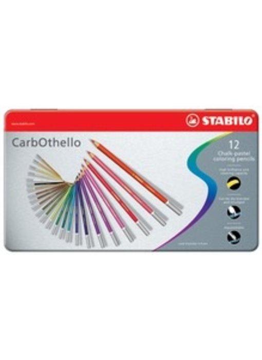 STABILO CARBOTHELLO CHALK PASTELS 12PK SET