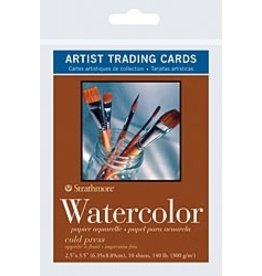 ART Watercolour Artists Trading Cards