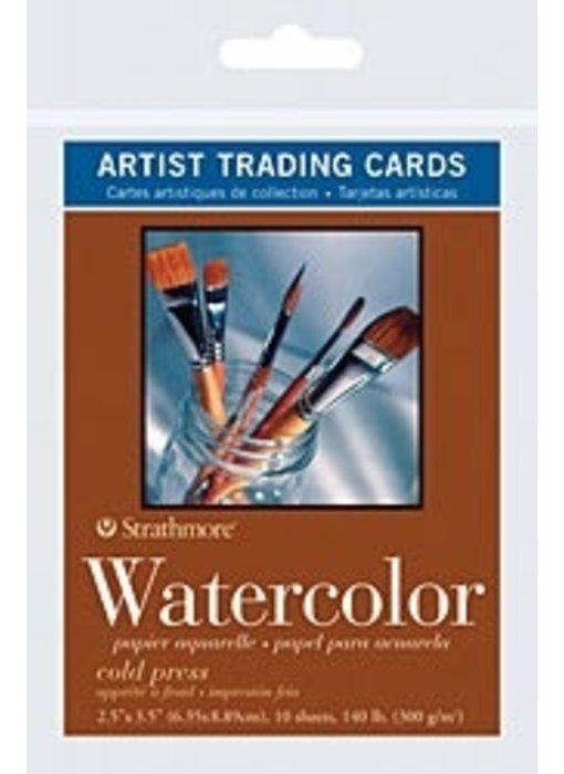 STRATHMORE ARTIST TRADING CARD WATERCOLOUR 10PK