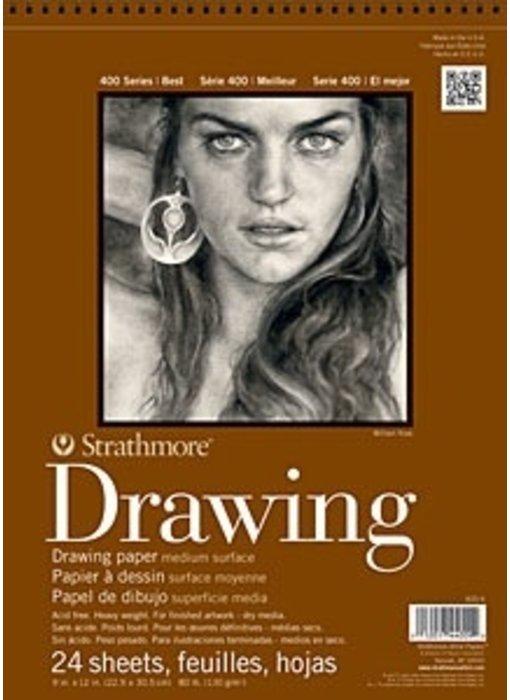 STRATHMORE DRAWING PAD 6x8 24 SHEETS