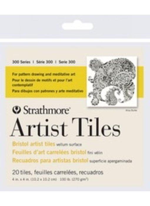 STRATHMORE BRISTOL ARTIST TILES 20PK