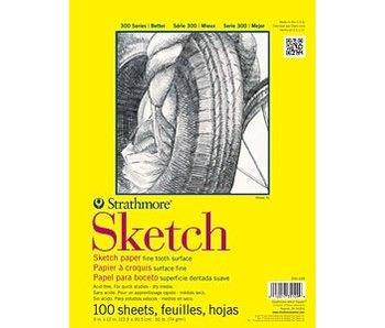 STRATHMORE SKETCH PAD 9x12 100 SHEETS