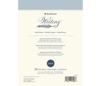 STRATHMORE WRITING PAPER BLANK 6x8 50 SHEETS