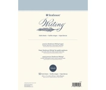 STRATHMORE WRITING PAPER BLANK 8.5x11 50 SHEETS