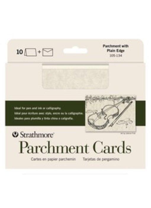 STRATHMORE PARCHMENT CARDS 5x7 10PK