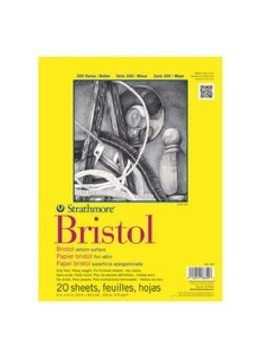 STRATHMORE BRISTOL 9x12 SMOOTH 20 SHEETS