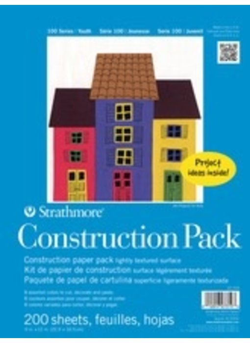 STRATHMORE CONSTRUCTION PAPER 200 SHEETS
