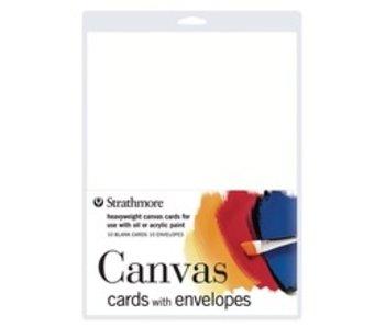 STRATHMORE CANVAS CARDS 10PK