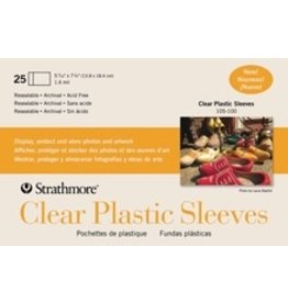 ART Clear Plastic Sleeves