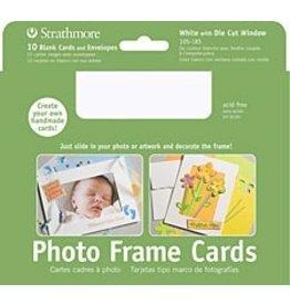ART Photo Frame Cards White