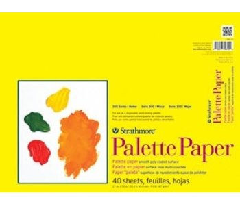 STRATHMORE PALETTE PAPER 12x16 40 SHEETS