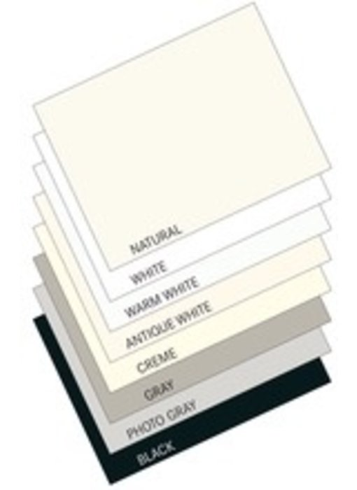 STRATHMORE 2PLY MUSEUM MOUNTING BOARD 32x40 WHITE replaces white conservation