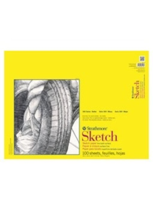 STRATHMORE DRAWING PAPER MEDIUM SURFACE 14 X 17 50 SHEETS