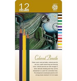 ART Coloured Pencils 12 pack