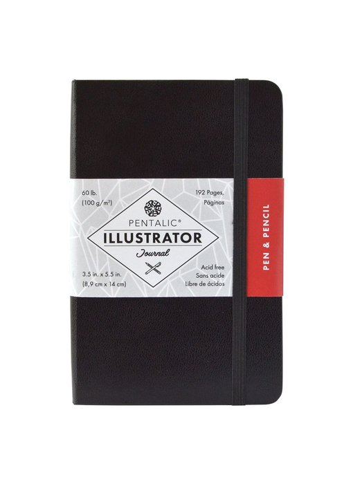 PENTALIC ILLUSTRATOR'S SKETCHBOOK 3.5x5.5 BLACK