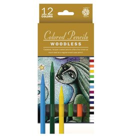 ART Woodless Coloured Pencils 12 pack