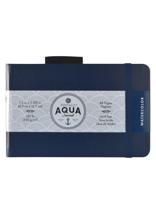 PENTALIC AQUA WATERCOLOUR JOURNAL 3.5x5.5 BLACK