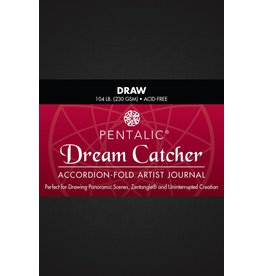 ART Dream Catcher Accordion Fold Drawing Journal