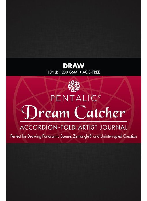 PENTALIC DREAM CATCHER JOURNAL 4x6 DRAW