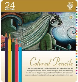 ART Coloured Pencils 24 pack