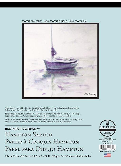 BEE PAPER HAMPTON SKETCH PAD 9x12
