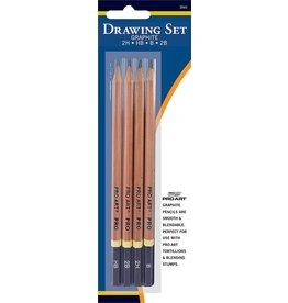 ART ProArt Drawing Set Graphite Pencils