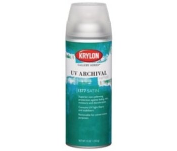 KRYLON UV ARCHIVAL VARNISH SPRAY 11OZ SATIN