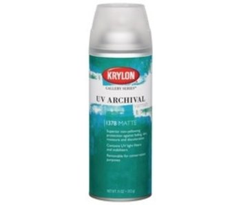 KRYLON UV ARCHIVAL VARNISH SPRAY 11OZ MATTE