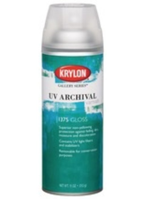 KRYLON UV ARCHIVAL VARNISH SPRAY 11OZ GLOSS
