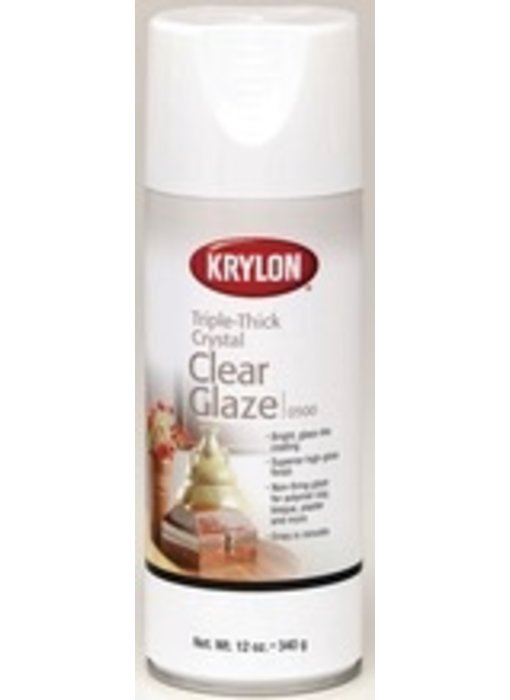 KRYLON TRIPLE-THICK CRYSTAL CLEAR GLAZE 11OZ