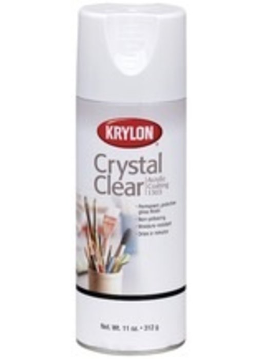 KRYLON CRYSTAL CLEAR SPRAY 6OZ