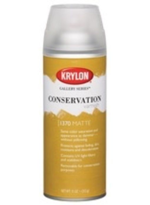 KRYLON CONSERVATION VARNISH MATTE 11OZ