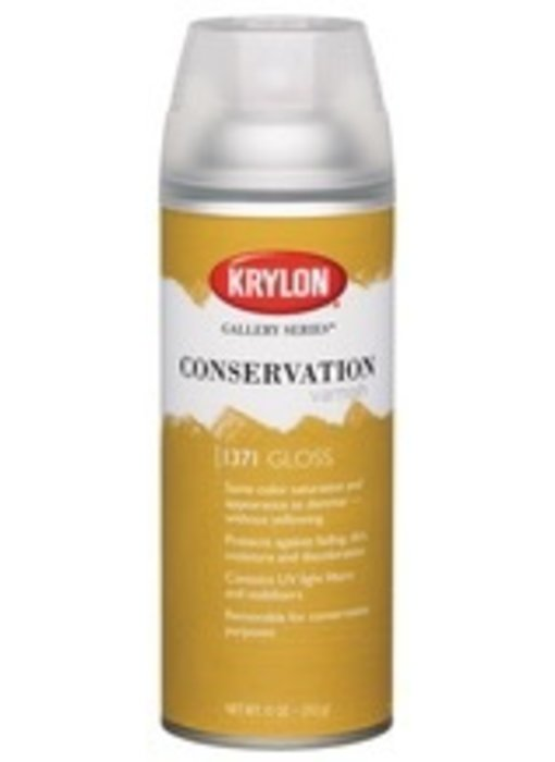 KRYLON CONSERVATION VARNISH GLOSS 11OZ
